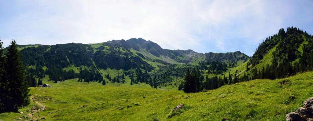 Willersalpe mit Zirleseck - Gaishorn - Rauhhorn