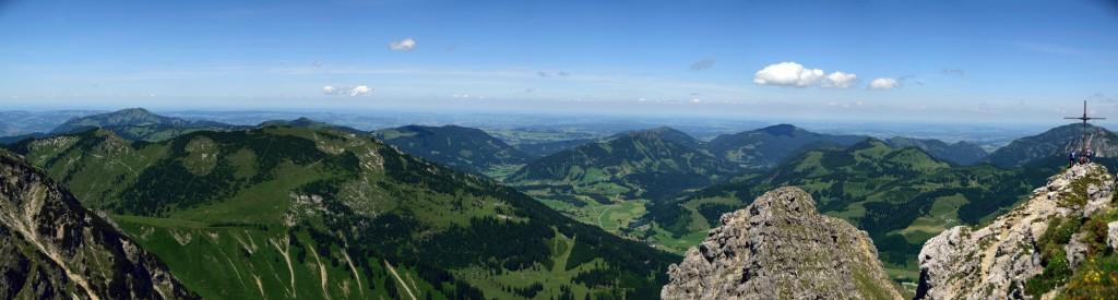 Nordwärts von Iseler über Sorgschrofen bis Einstein - Breitenberg